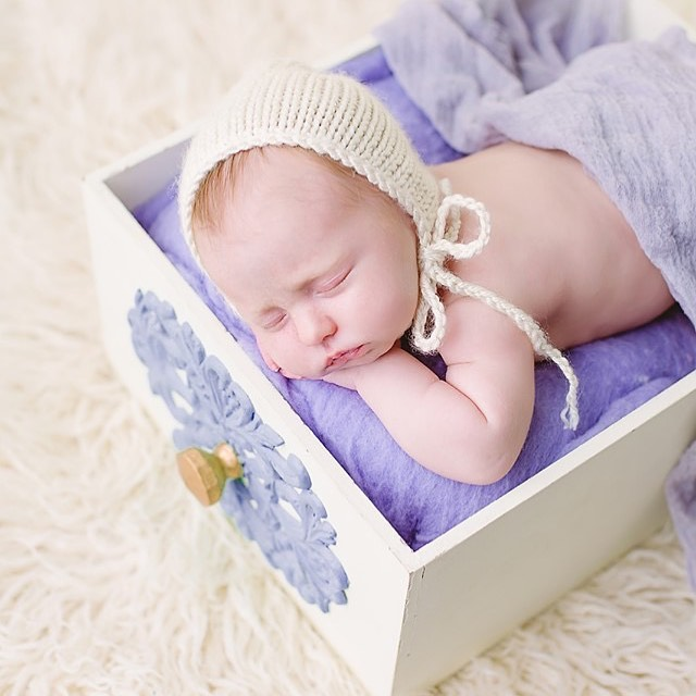 Little angel Adalynn 💜 #newborn #newbornphotography #photooftheday