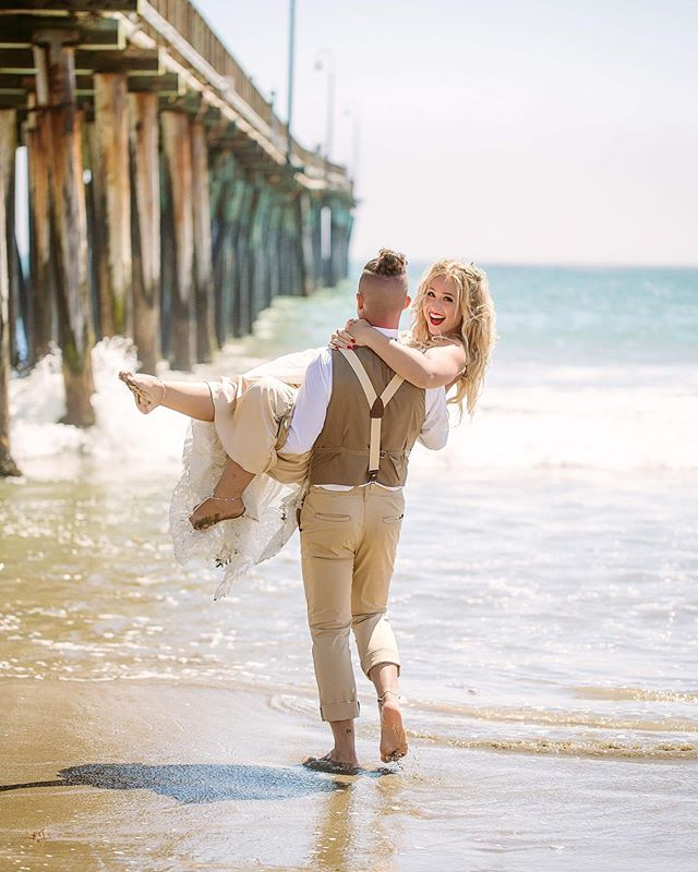 Find a man who never stops sweeping you off your feet ❤️ #wedding #destinationwedding #younglove