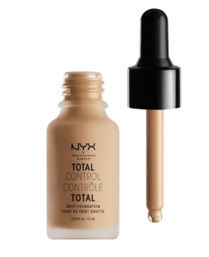 NYX Total Control Drop Foundation | 12 Shades | $14