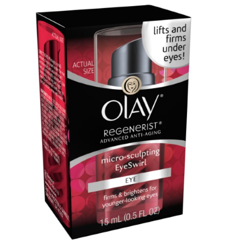 Eye Cream | OLAY Micro-sculpting Eye Swirl | $20
