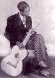 New Orleans blues guitarist Lonnie Johnson