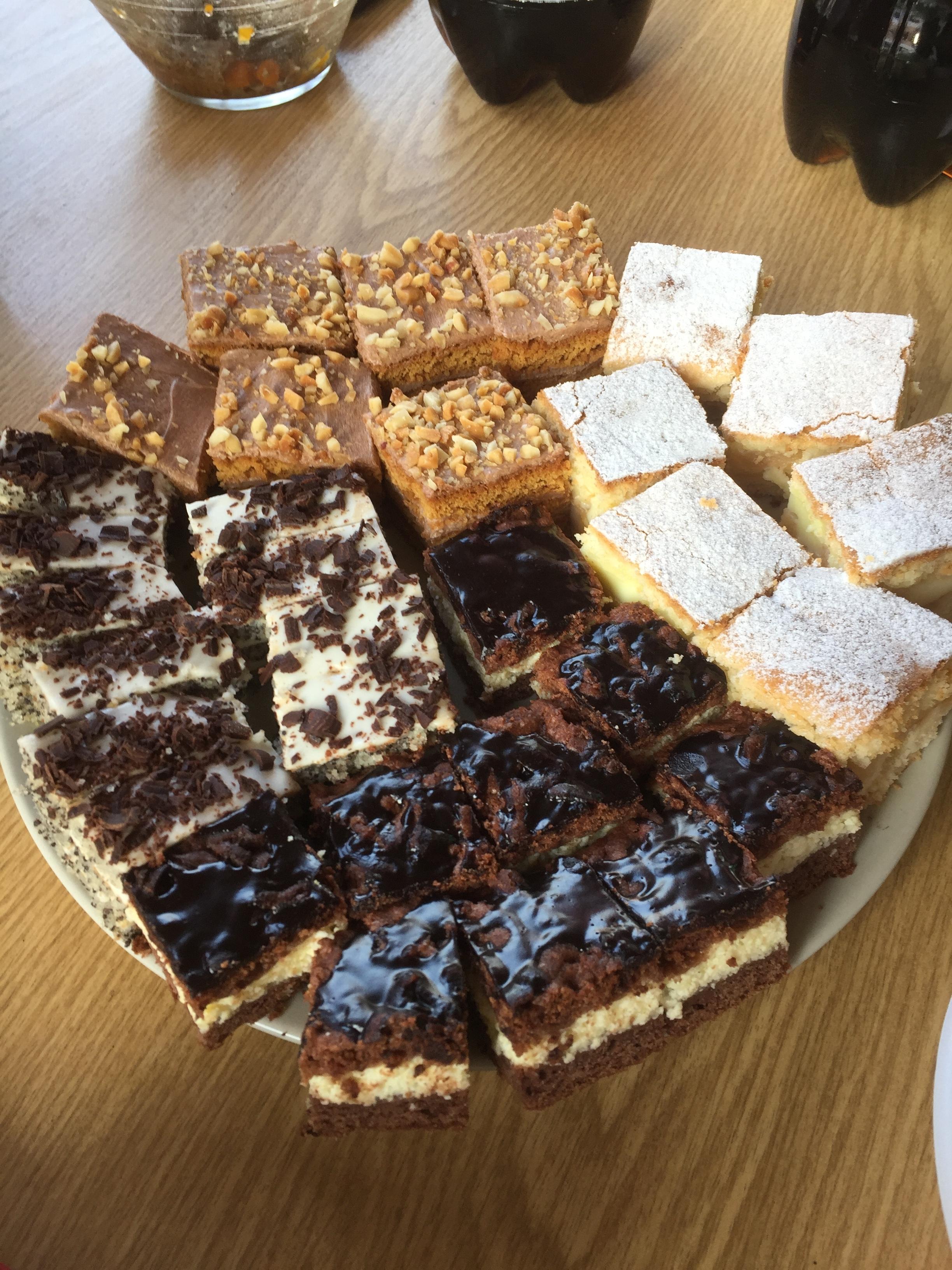 Milka's artisan cakes!