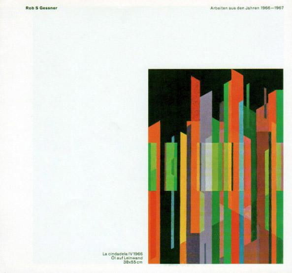 Robert S. Gessner_Arbeiten 1966-1967