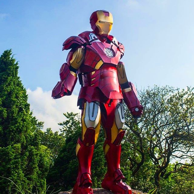 IRON MAN 💥 #hkkids #hkiger #celebrate #purpleturtlepartieshk #ironman #cosplay #dressups #party #explore #hongkong