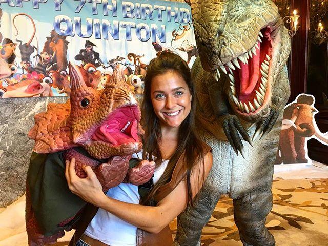 We also do Dinosaur Parties... Follow HIREASAURUS for more info. 🦖 🦕  #dinosaur #parties #birthdays #funtimes #smile #laugh #celebration #purpleturtlepartieshk #hireasaurushk