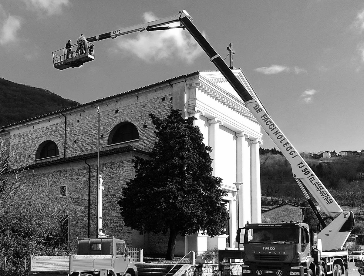 Chiesa Valrovina - Ristrutturazione e miglioramento sismico