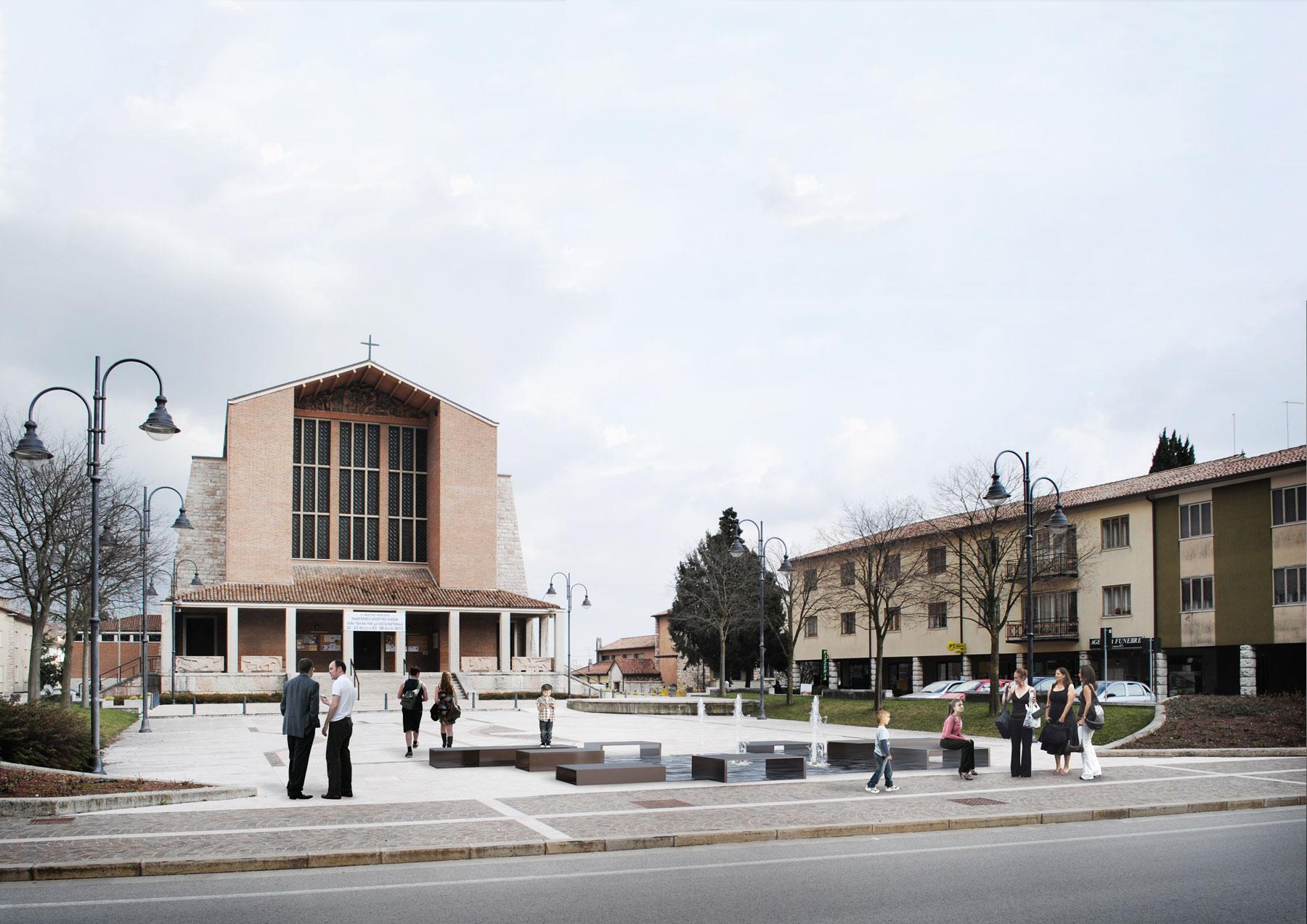 Fontana - Spazio pubblico