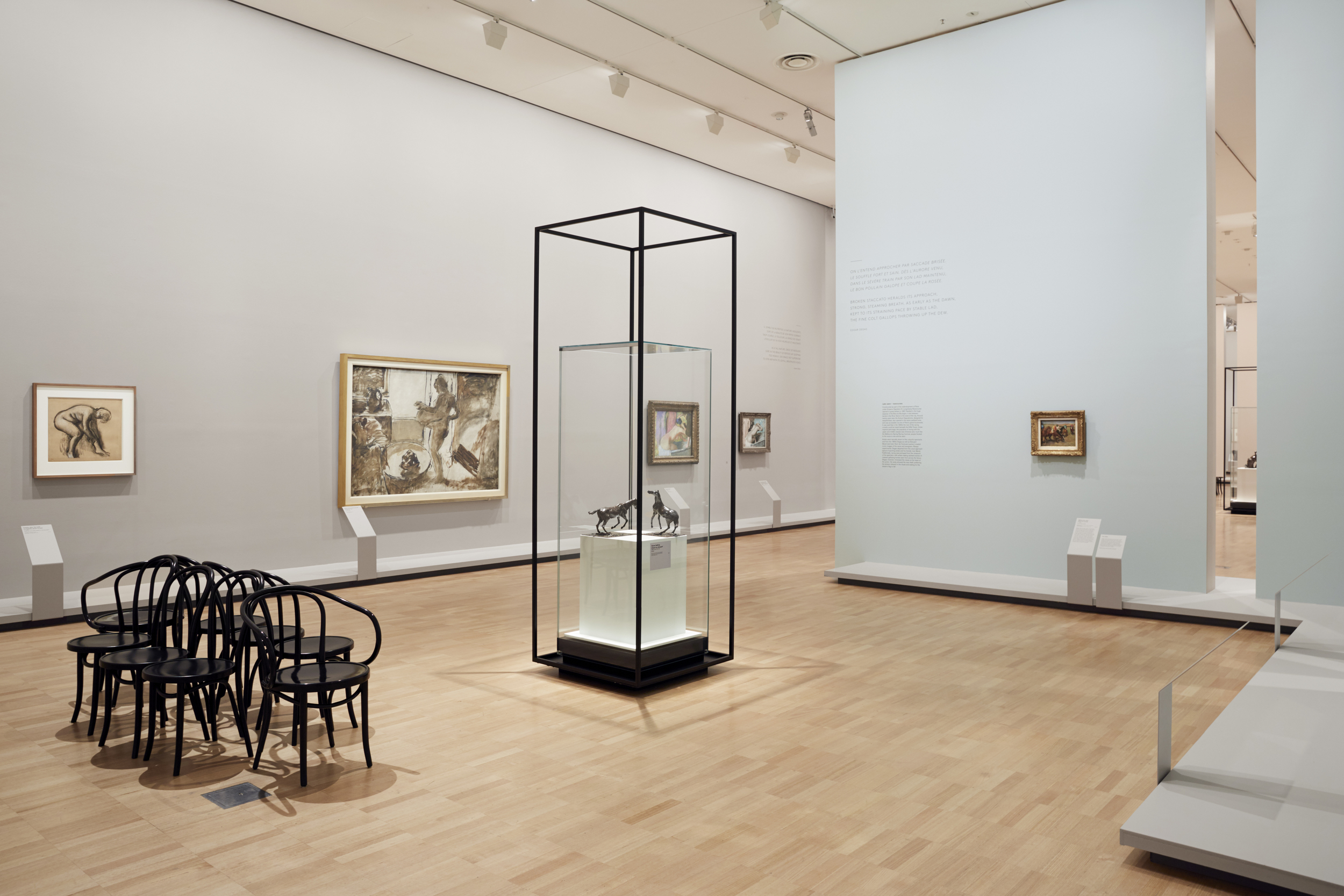 Installation view of Degas: A New Vision at NGV International, 24 June – 18 September 2016. Photo: Tom Ross