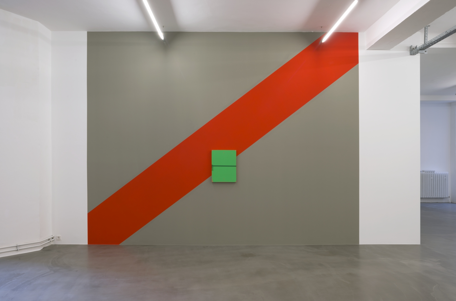 The Signifier (Left), 2013 installation view