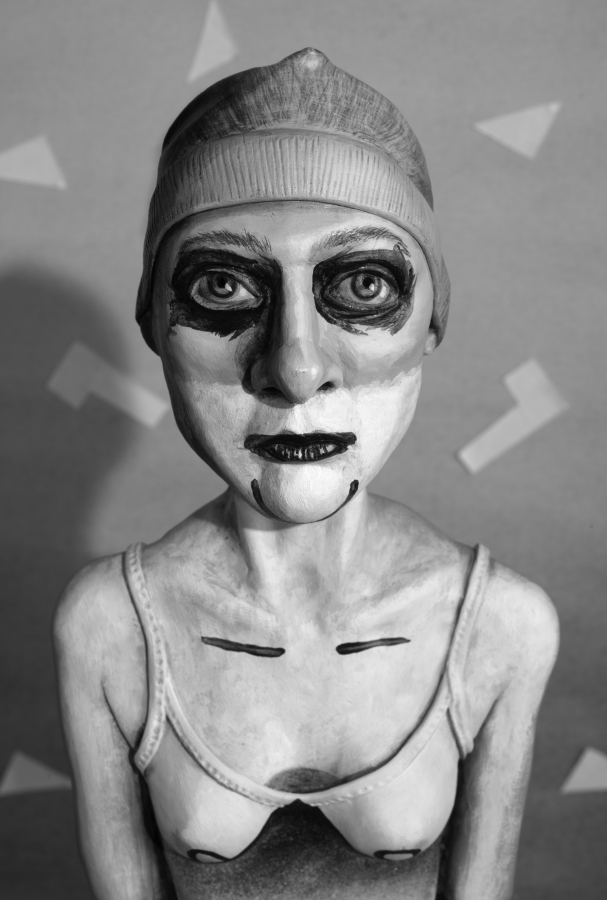 Mary in Maenad Costume , 2015 photograph, 57 cm x 38 cm