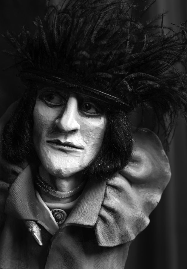 Duchamp as Rose Selavy after Man Ray , 2015 photograph, 57 cm x 38 cm