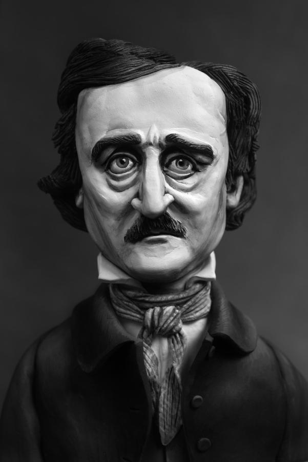 Edgar Allen Poe (Stella) ,2015 photograph, 57 cm x 38 cm