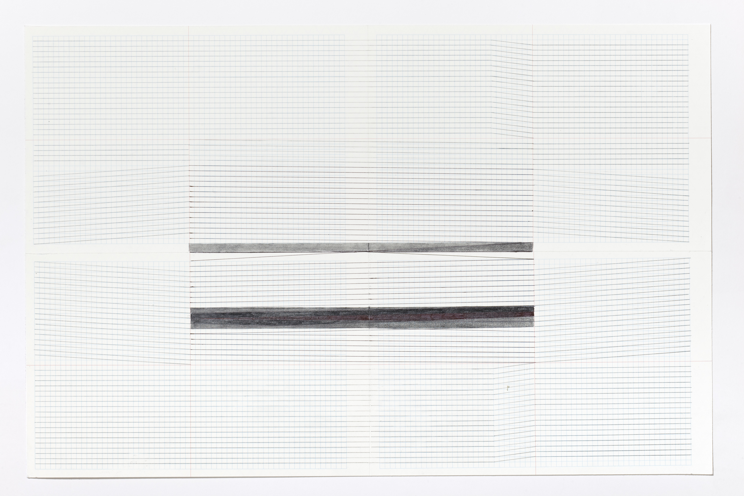 Haleh Redjaian,  Untitled (4/9) , 2015 pencil on paper, 32 x 46 cm