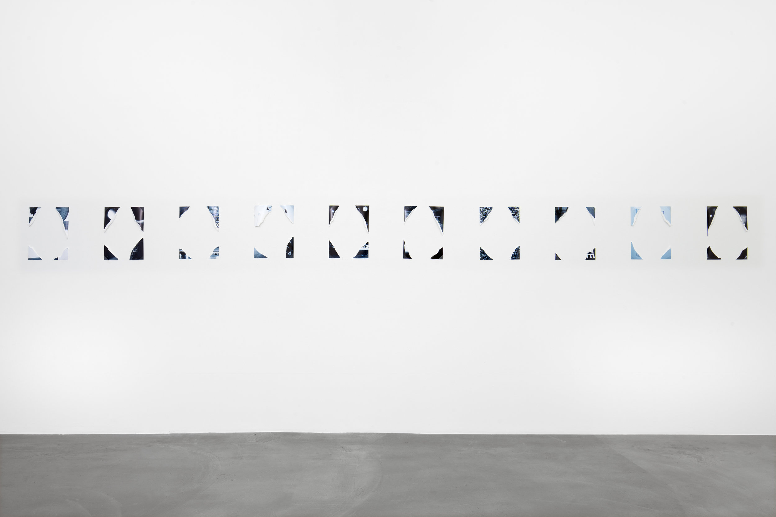 Maria Anwander   Catalogue Raisonné , 2016 Photographs, dimensions variable