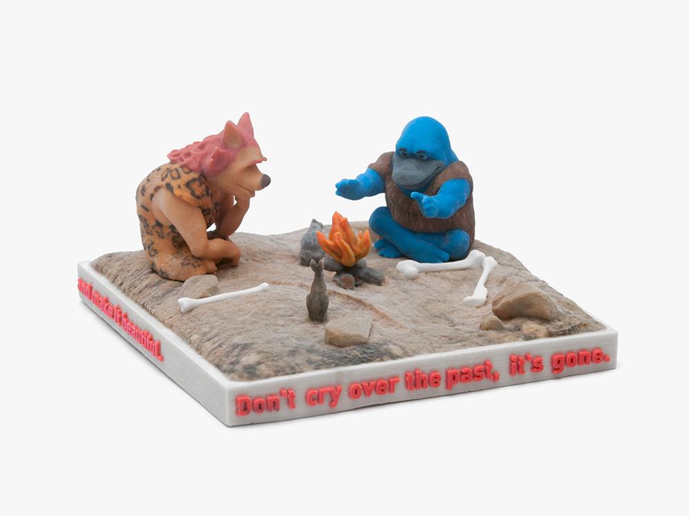 Ed Fornieles  Ash vs Evil,  2016 3D print, 20 x 20 x 15 cm