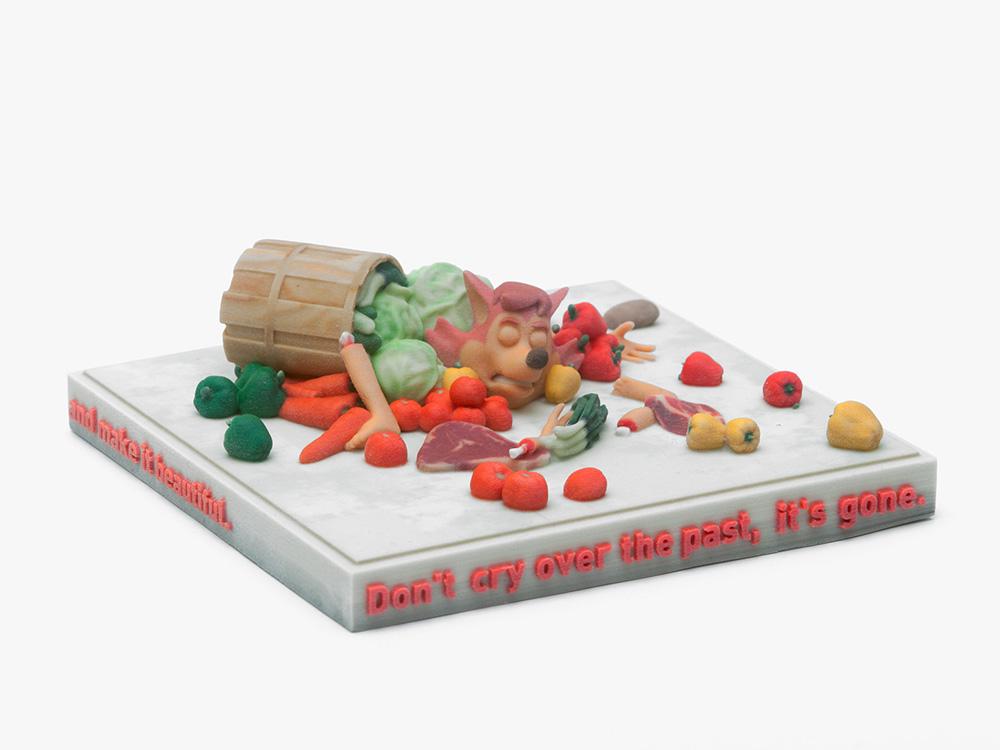 Ed Fornieles  The Ticket , 2016 3D print, 20 x 20 x 15 cm