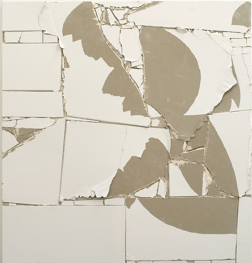Pablo Rasgado  Unfolded Architecture,  2011 walls from ARRATIA BEER Gallery, Vinylic-acrylic paint, drywall on wood, 180 x 190 cm