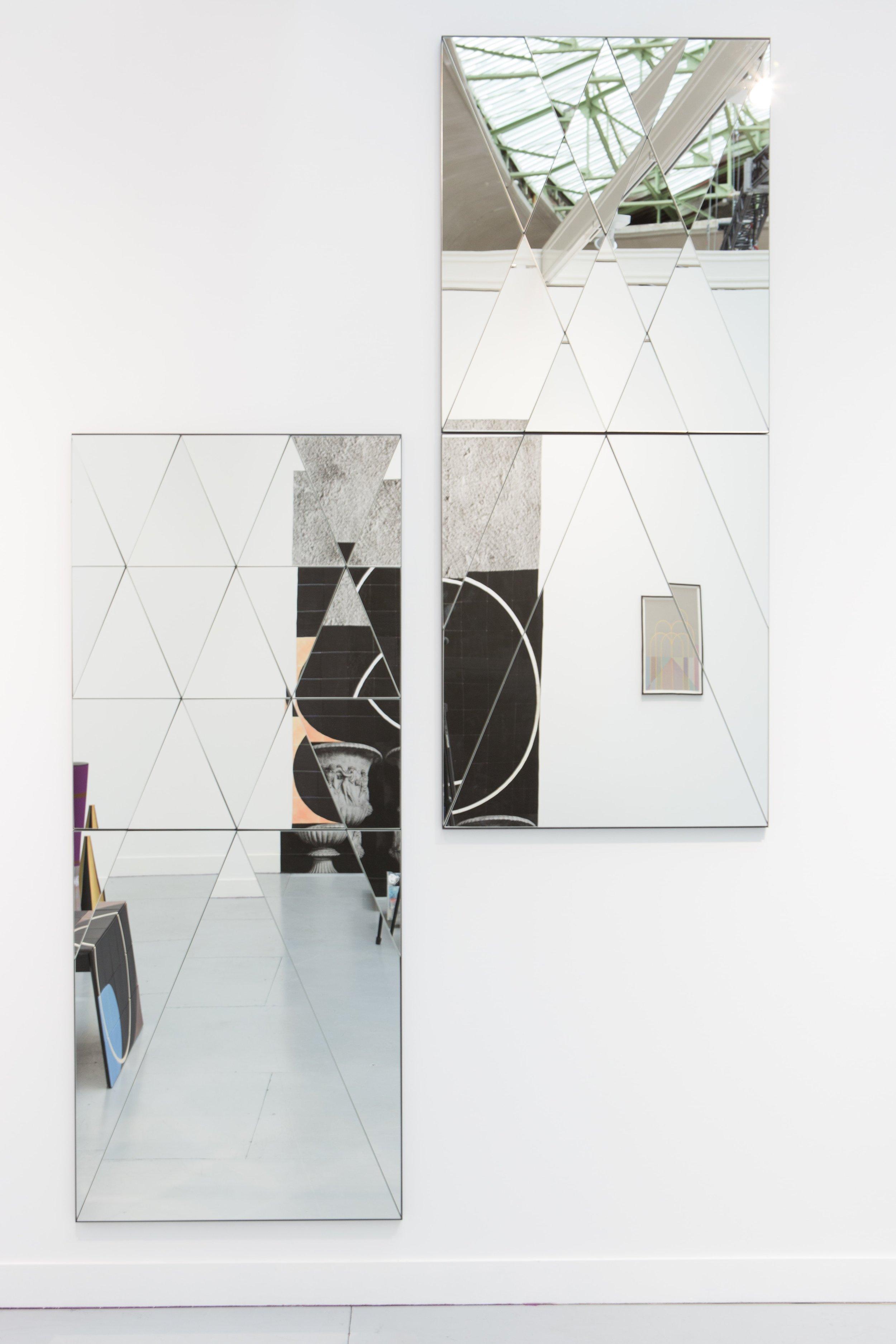 Claudia Wieser, 2015, untitled (mirror), mirror,182 cm x 76 cm x 3 cm, edition 1+2