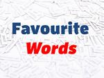 teachers favourite words