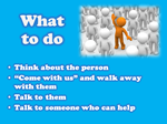 what to do if you see bullying