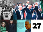 Nelson Mandelas freedom has an impact around the workd