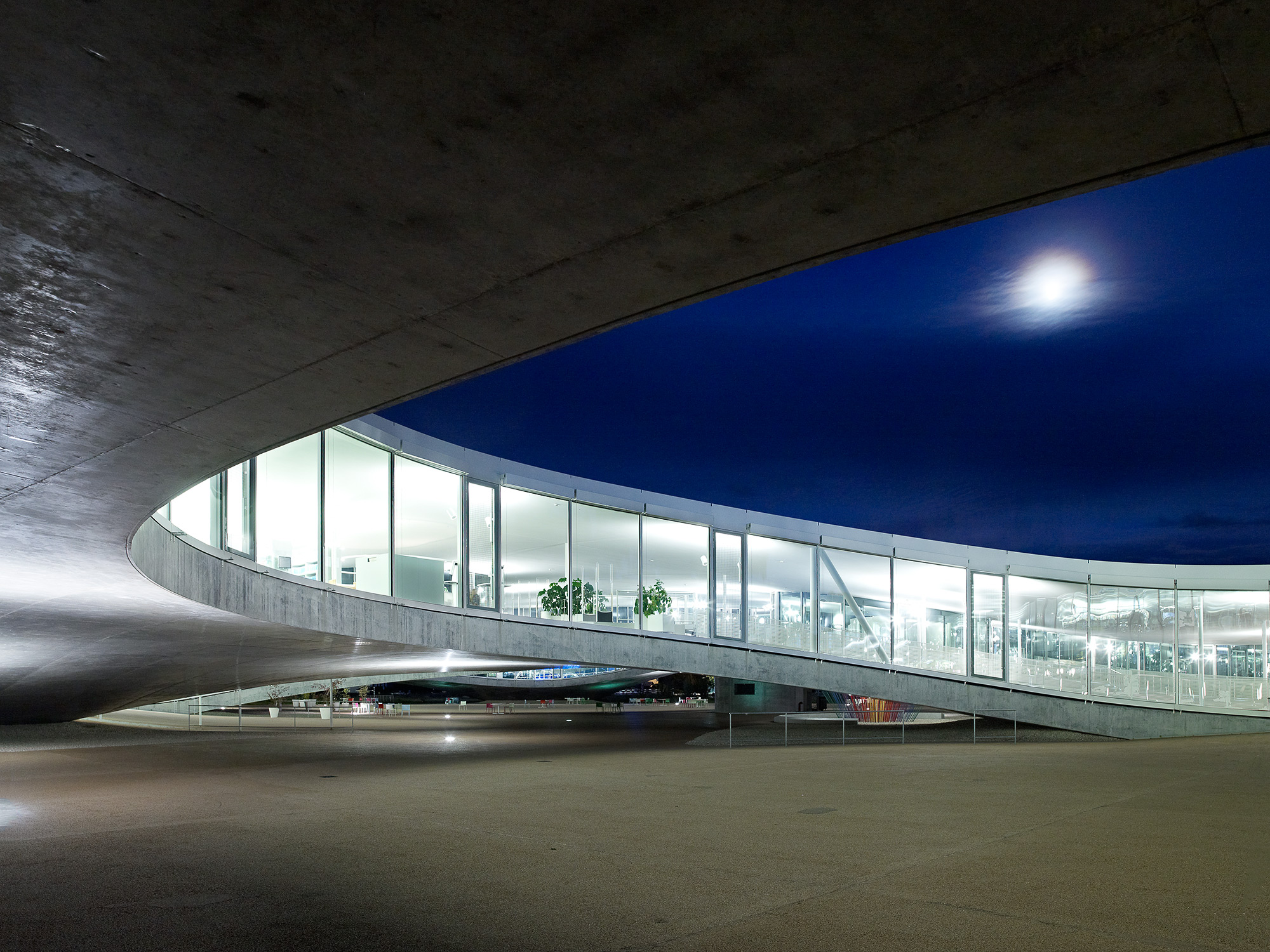 Rolex learning center  Saana