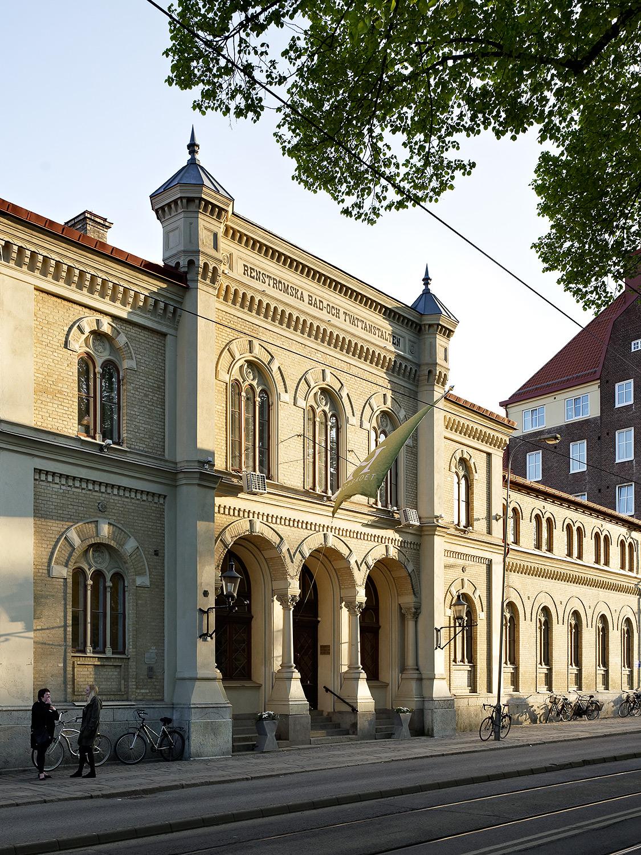 Renströmska badet  Axel Kumlien