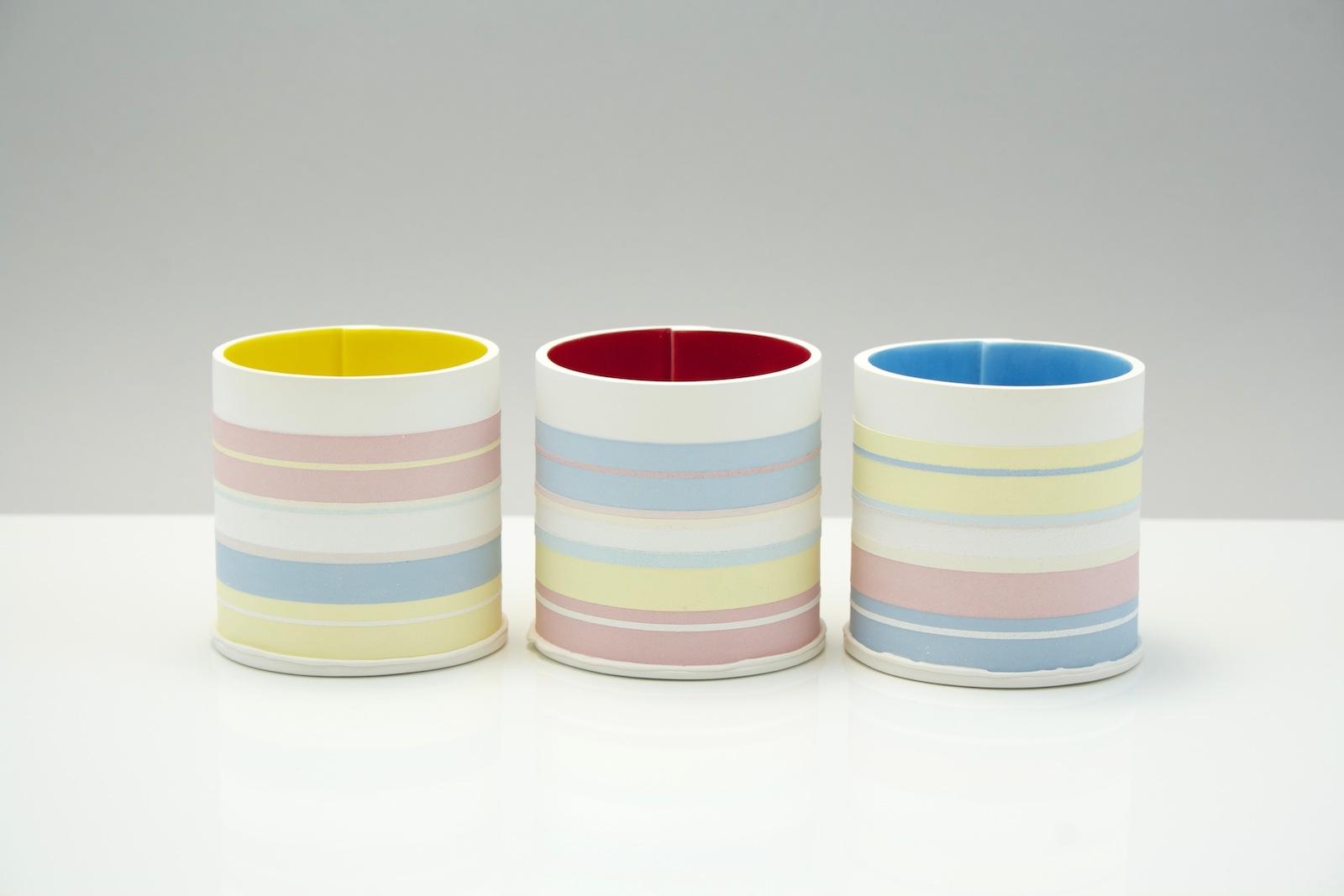 Primary Trio  ceramic