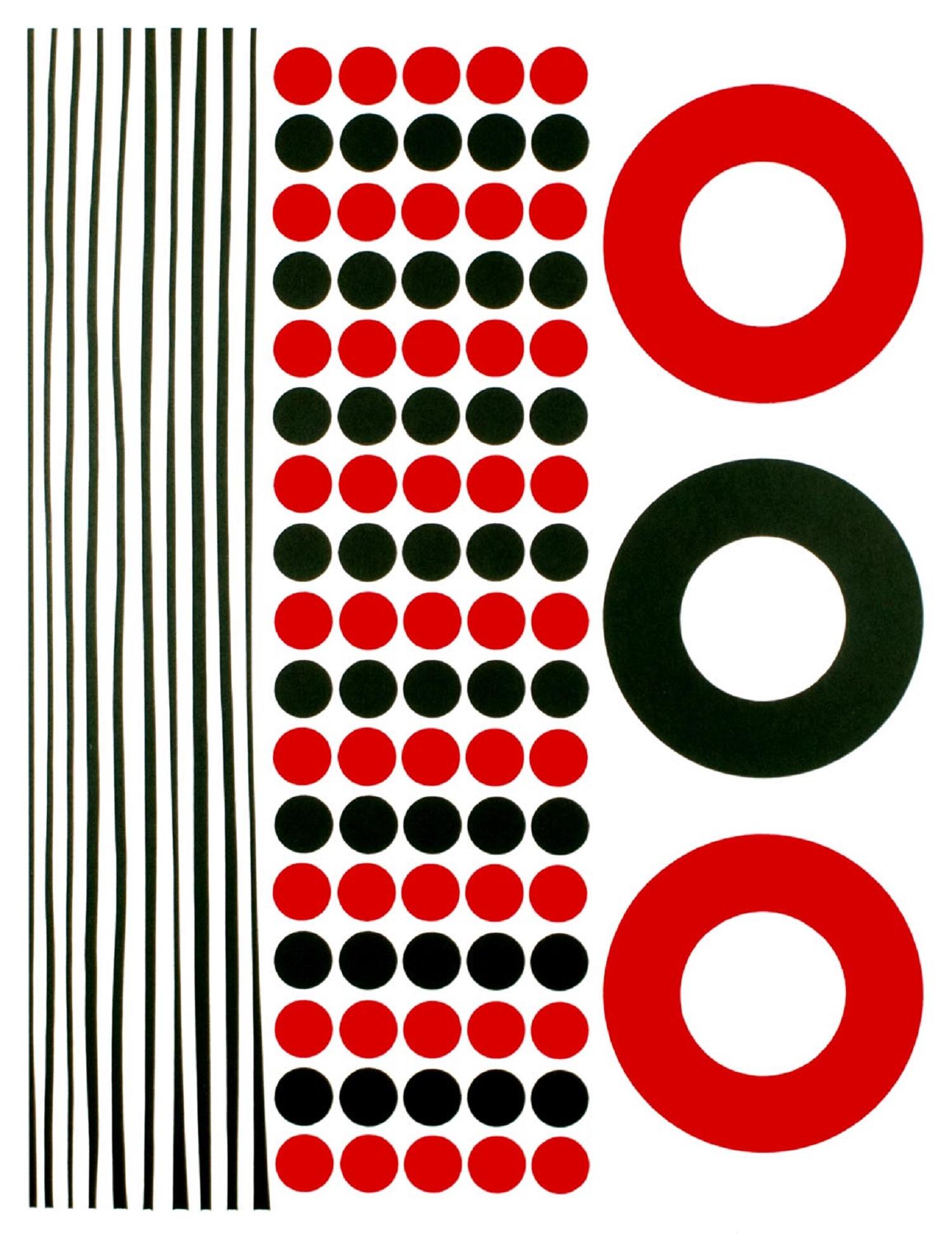 Red Spot 45   silkscreen
