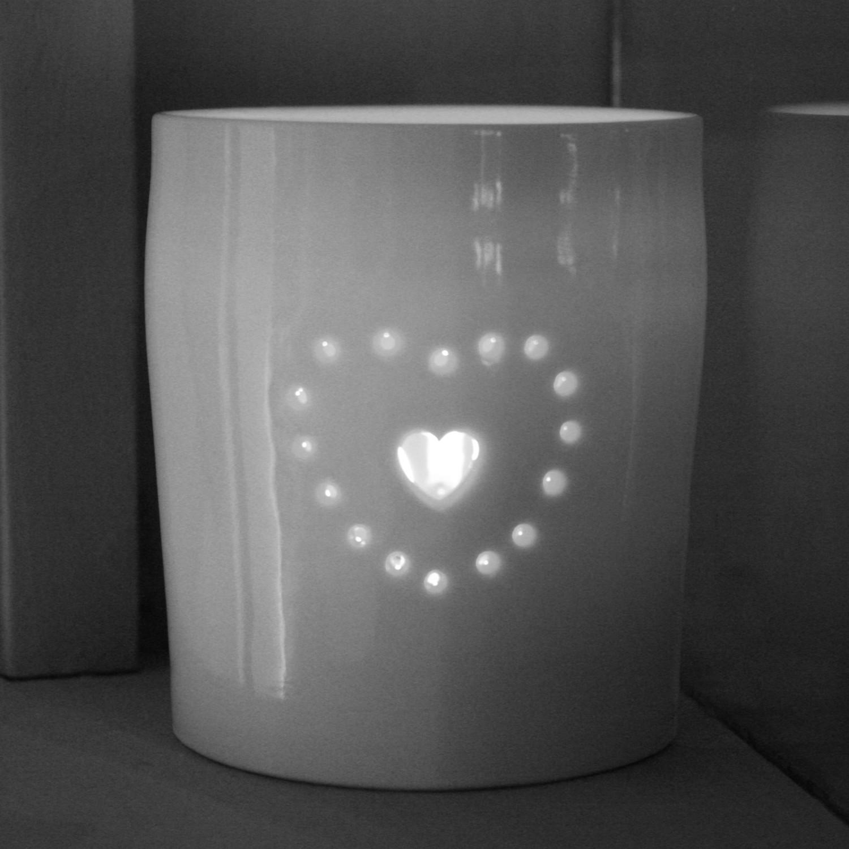 Tea Light  porcelain