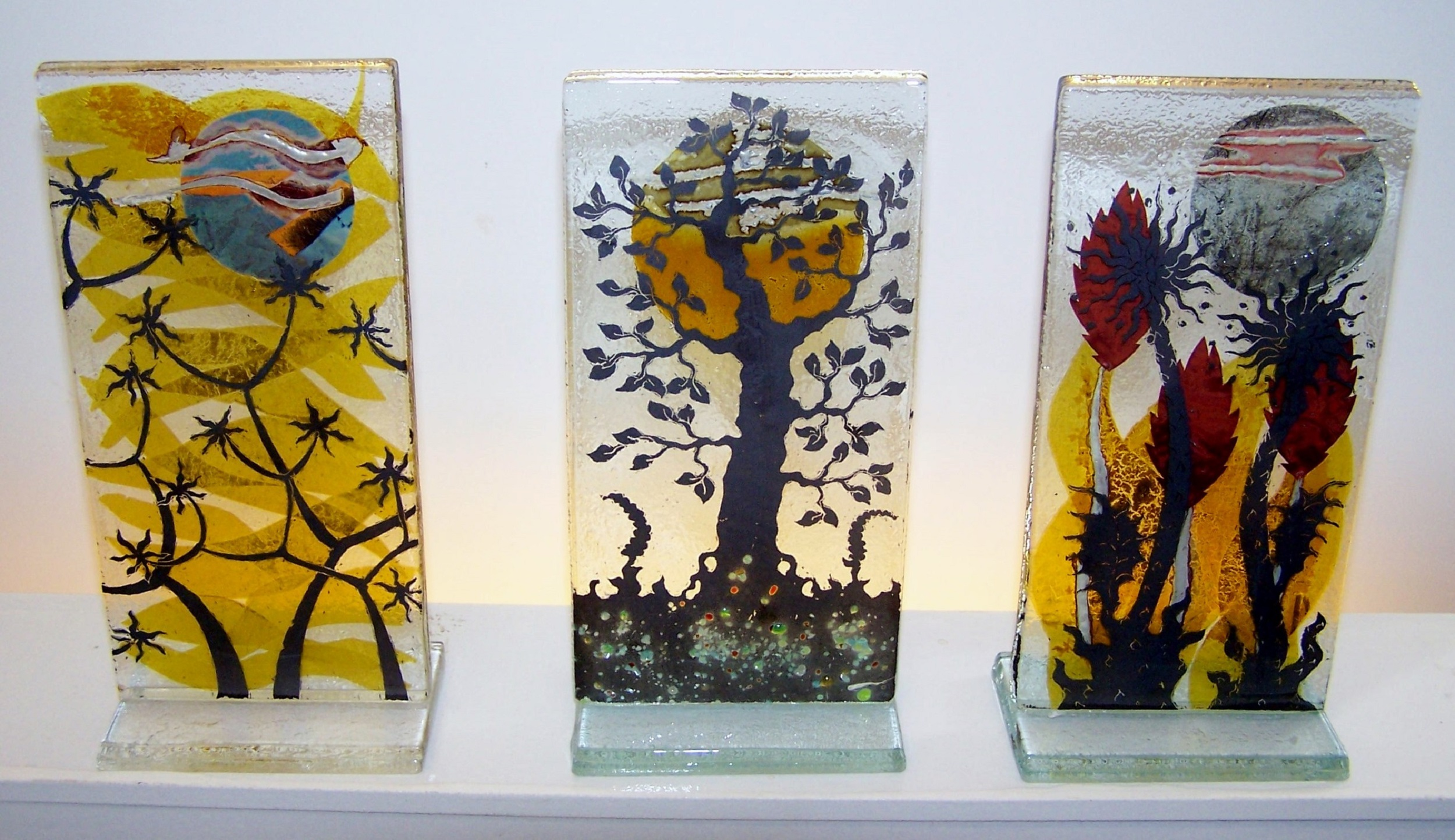 Freestanding Panels   glass