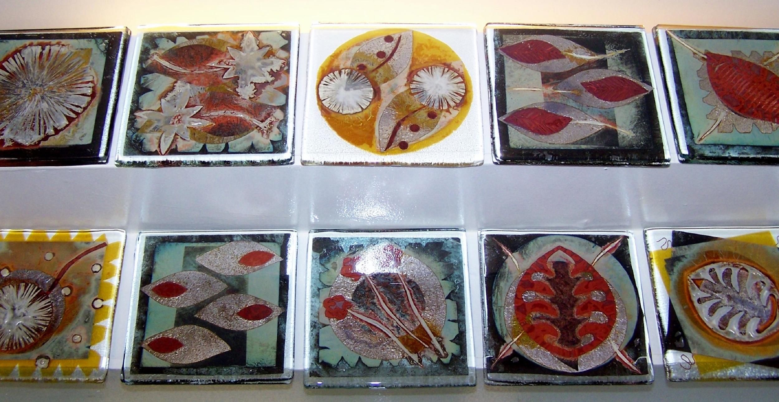 Coasters   glass