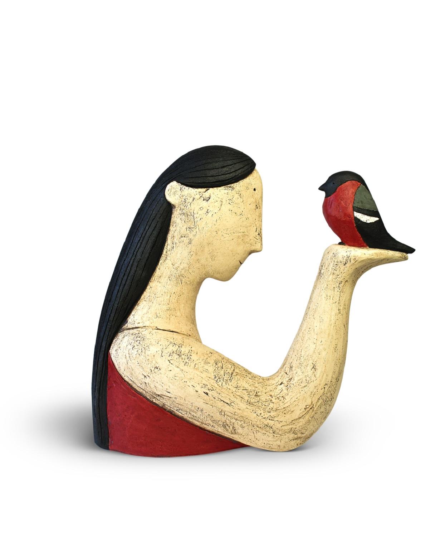 Bird in Hand  ceramic