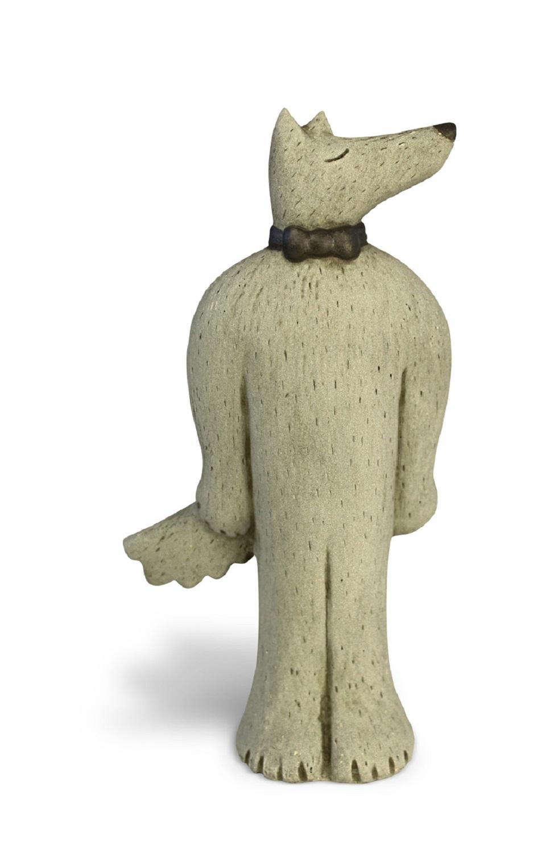 Wolfie   ceramic