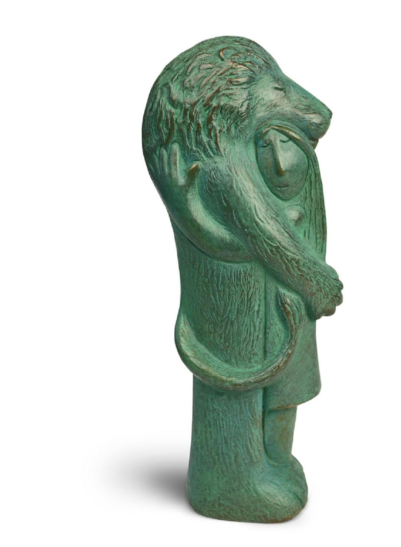 Lionheart  bronze resin (verdigris)   £195