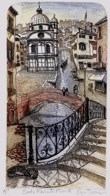 San Maria Miracoli   etching   43 x 28cm  £97 (unframed)