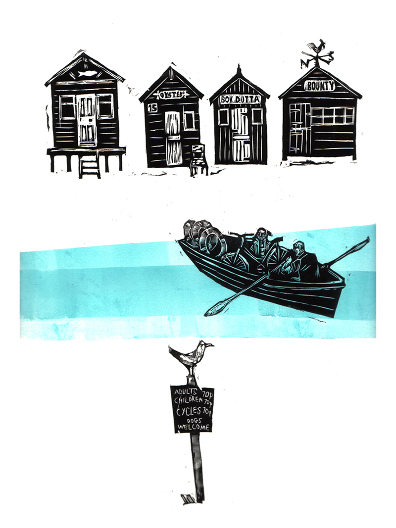 Ferry   engraving
