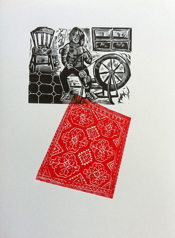 Wheel Spinner   engraving