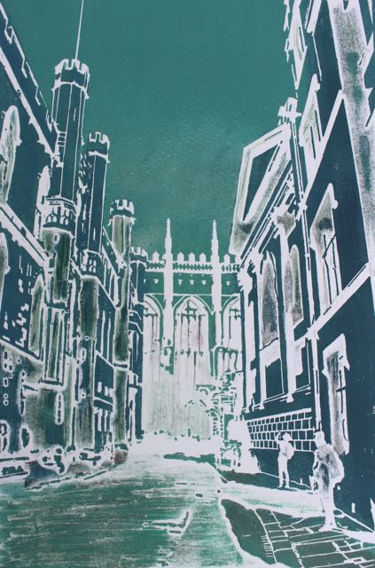 Back Street Kings ed10   solar plate etching   SOLD