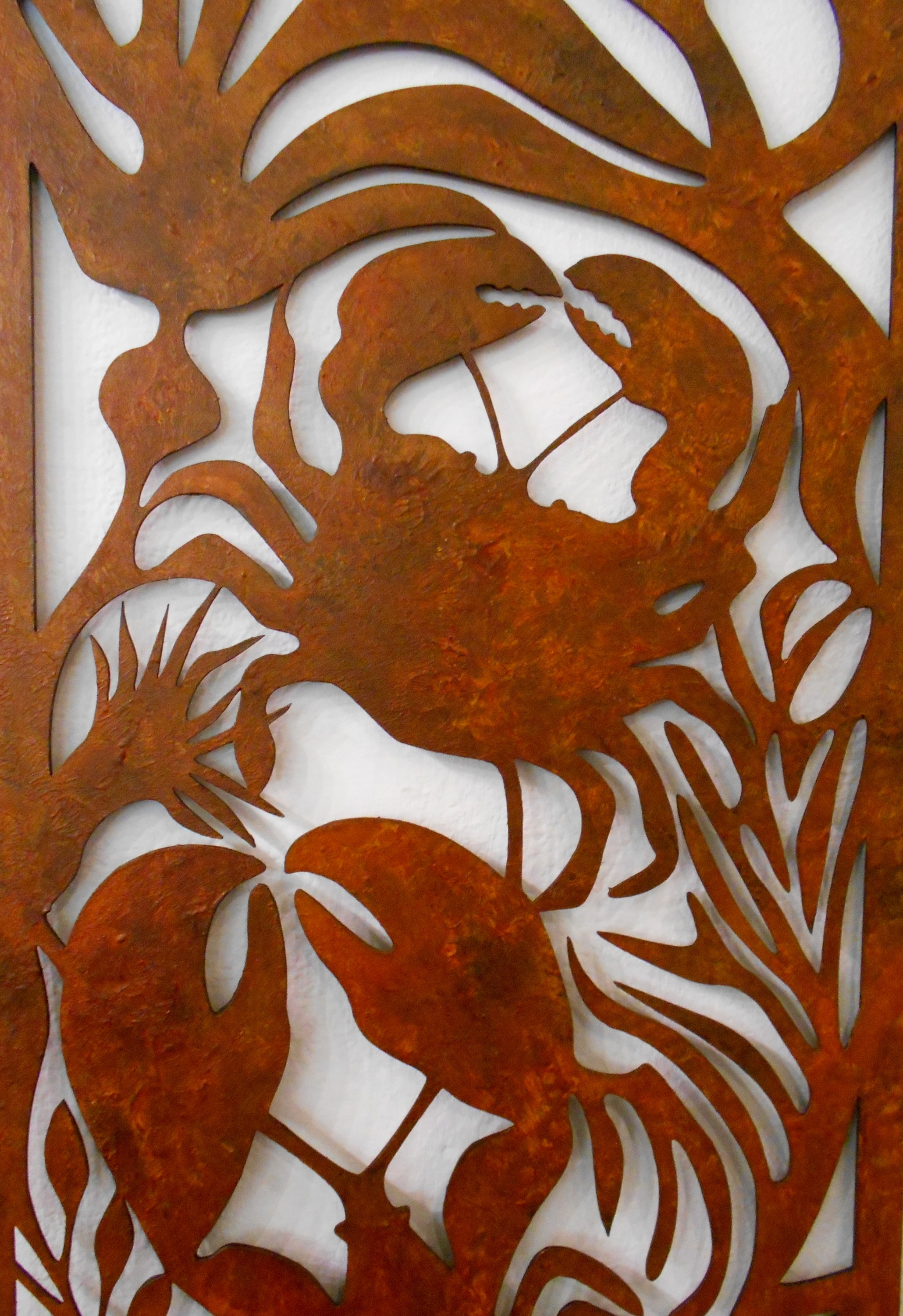 Crab and Lobster Panel Detail