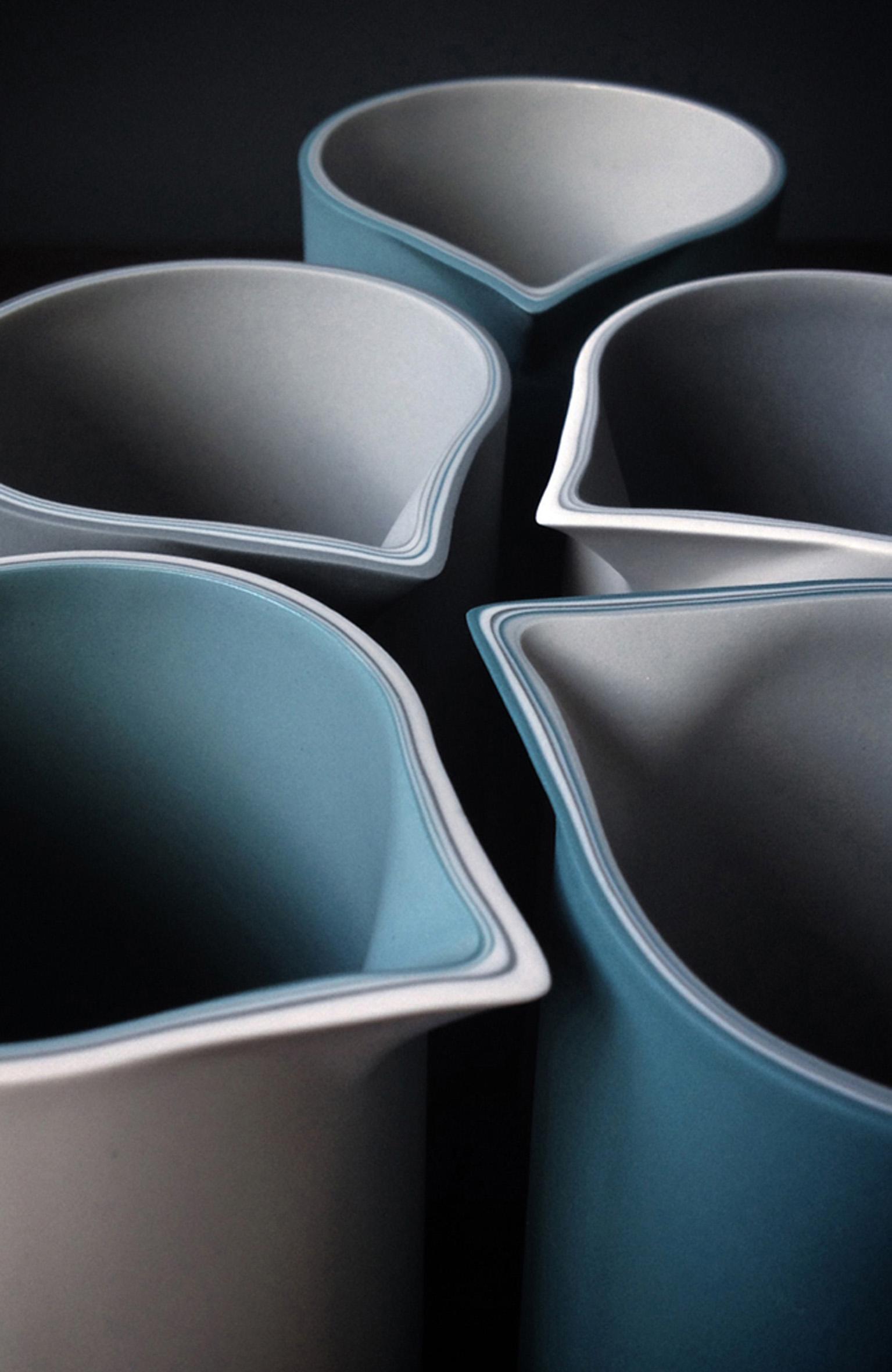 Five Jugs  ceramic