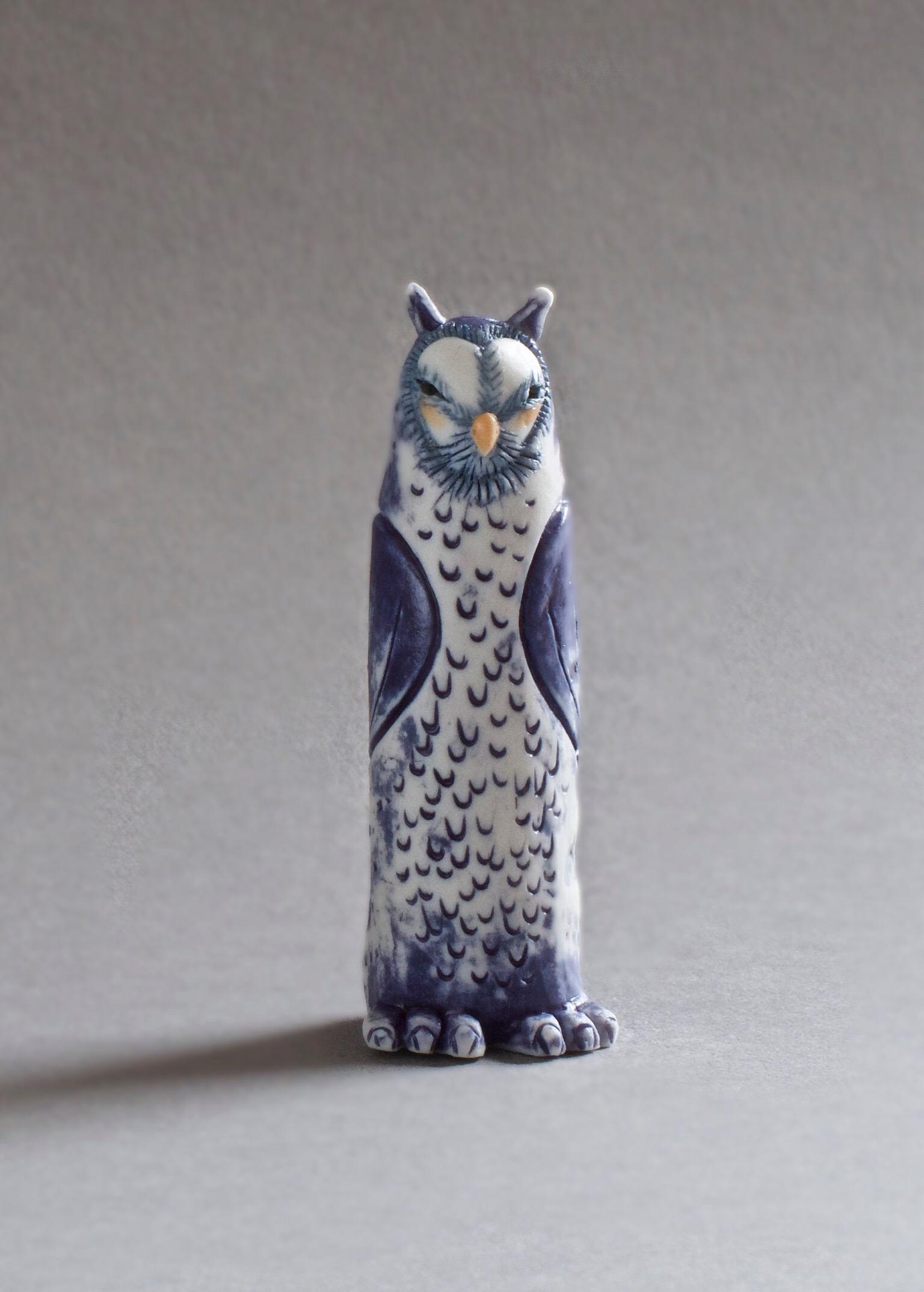 Owl Spirit  porcelain