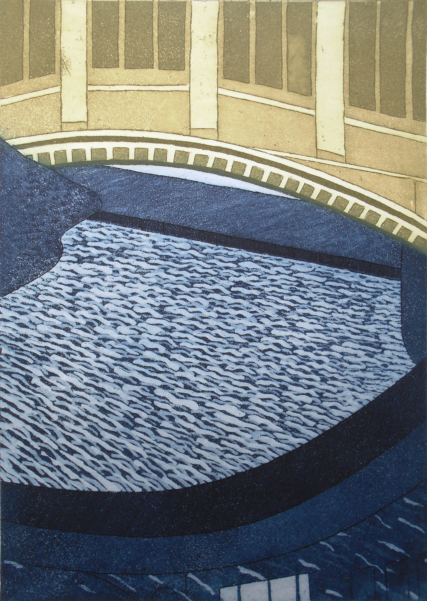 Bridge of Sighs   etching   29 x 42 cm  £231
