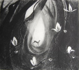 Flora McLachlan   The First Leaves  etching