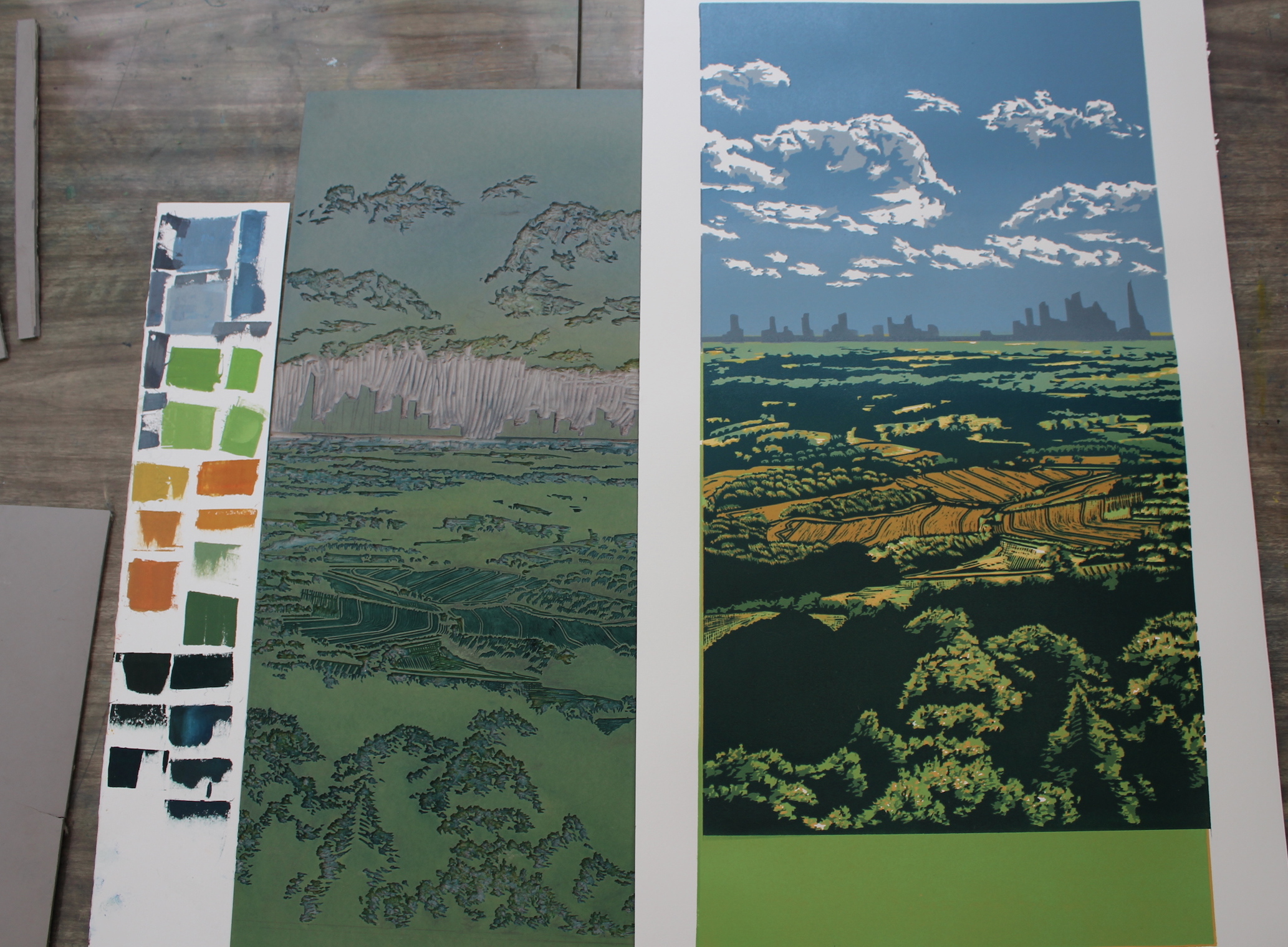 Leith Hill View - In Progress