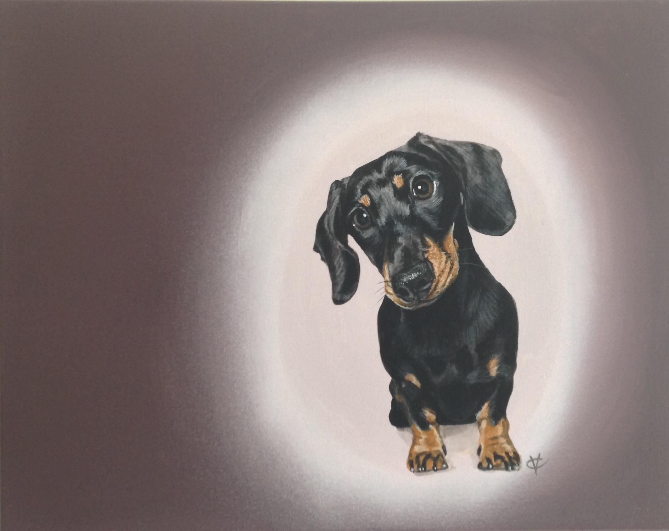 Angel Delight    acrylic on canvas   16 x 20  £260