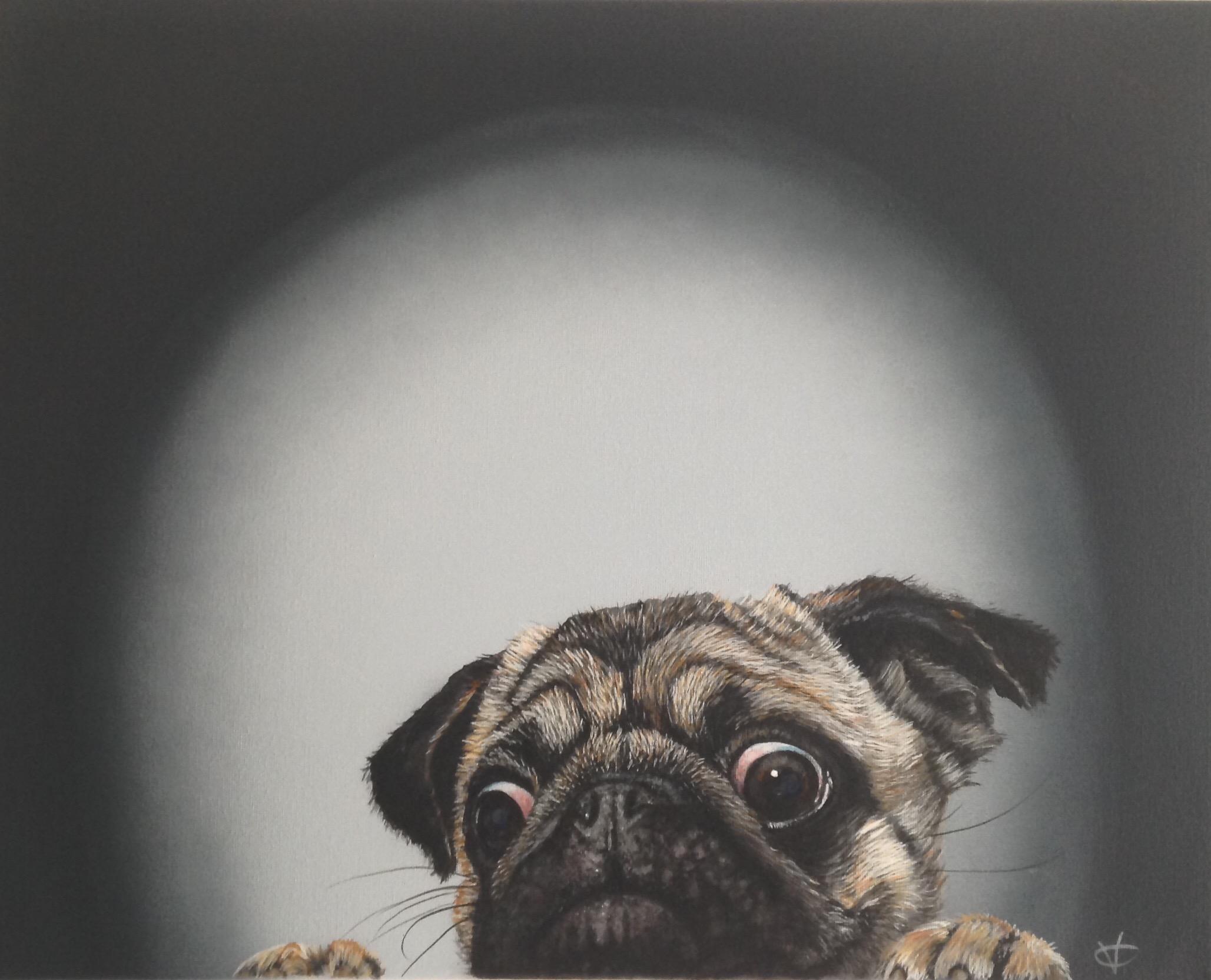 I Spy  acrylic on canvas  16 x 20  £260