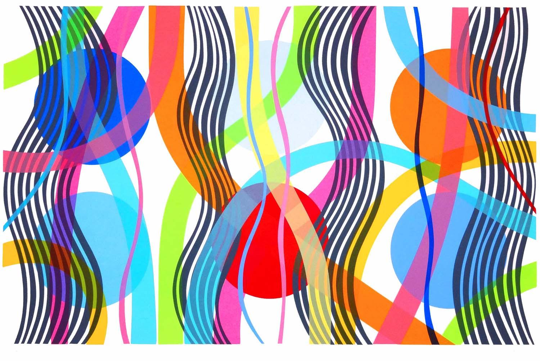 Flow VII  silkscreen