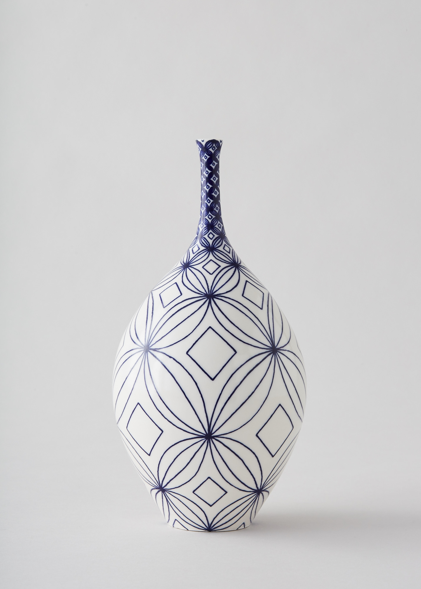 Rhian Malin  Frangipani Bottle  £85  ceramic