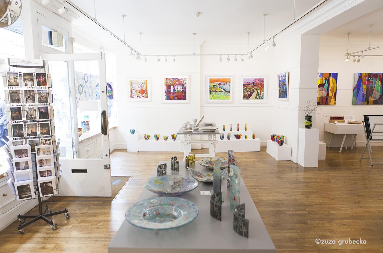 The new exhibition at cambridge contemporary art  Photo by  Zuza Grubecka
